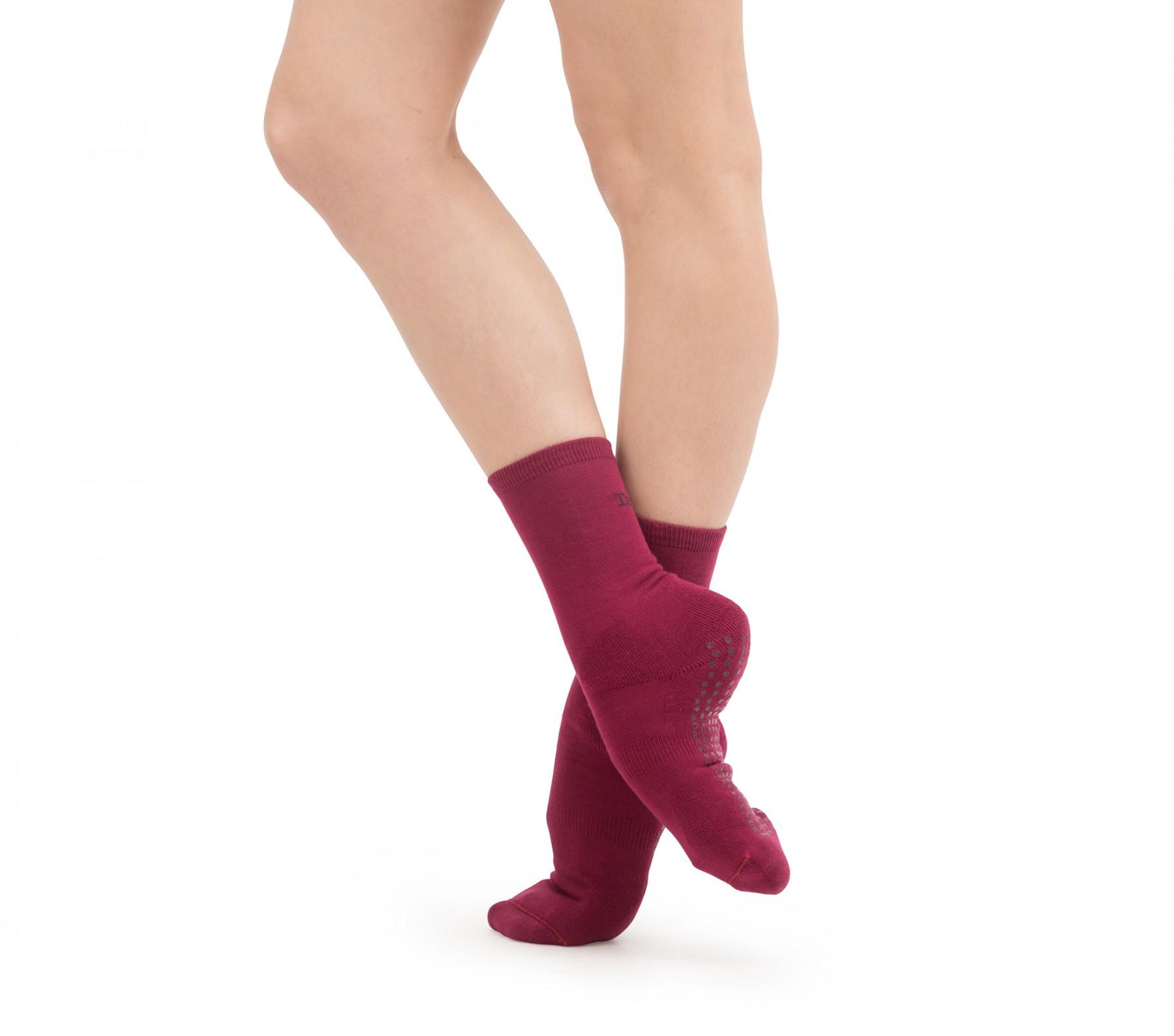 Chaussettes d'échauffement antidérapantes