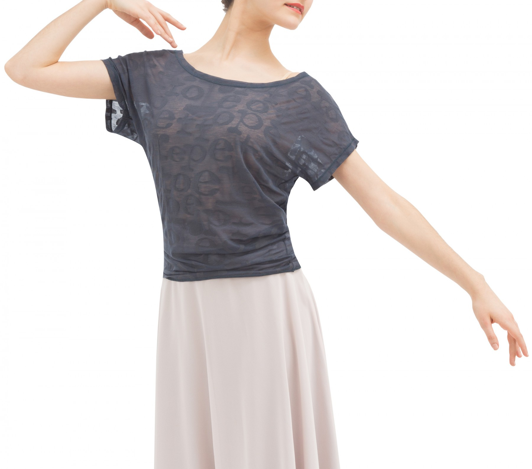 T-shirt transparence Repetto