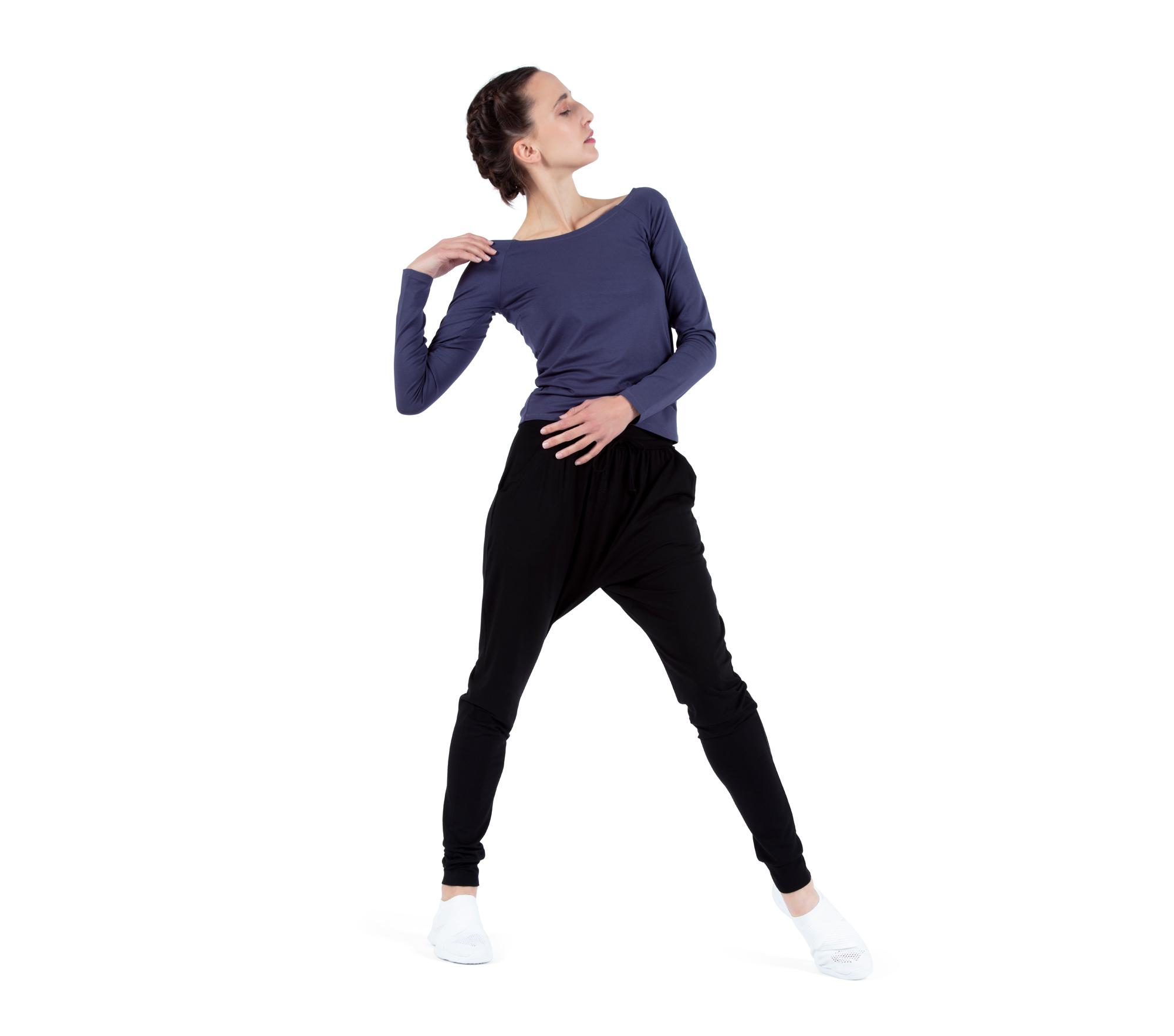 Top col danseuse