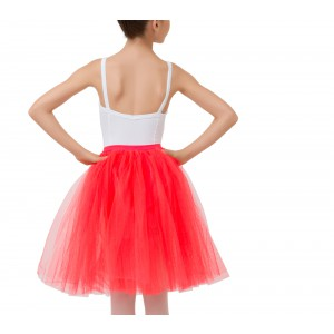 Jupon de tulle long fantaisie