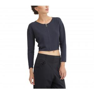Cardigan zippé en tricot