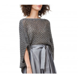 Pull gros tricot boule