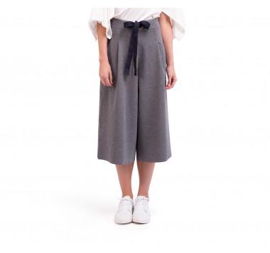 Jupe culotte en maille stretch bi face