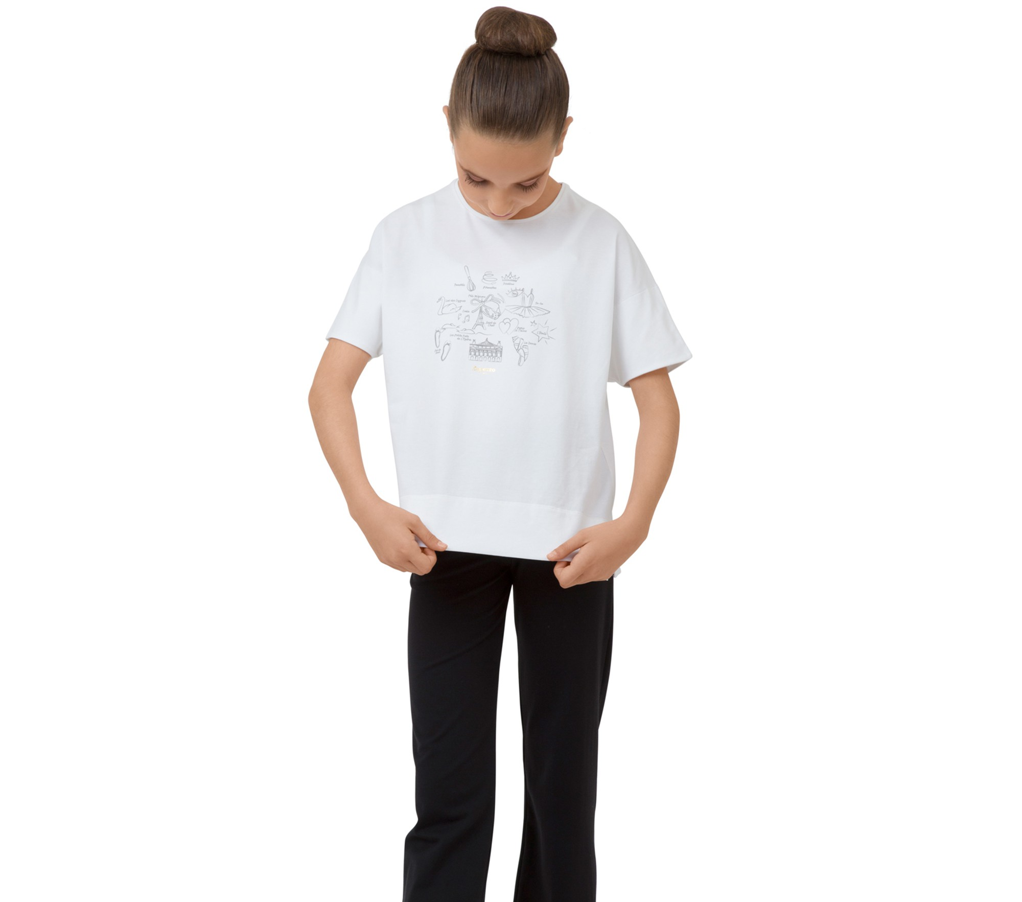 Tee shirt graphisme enfant