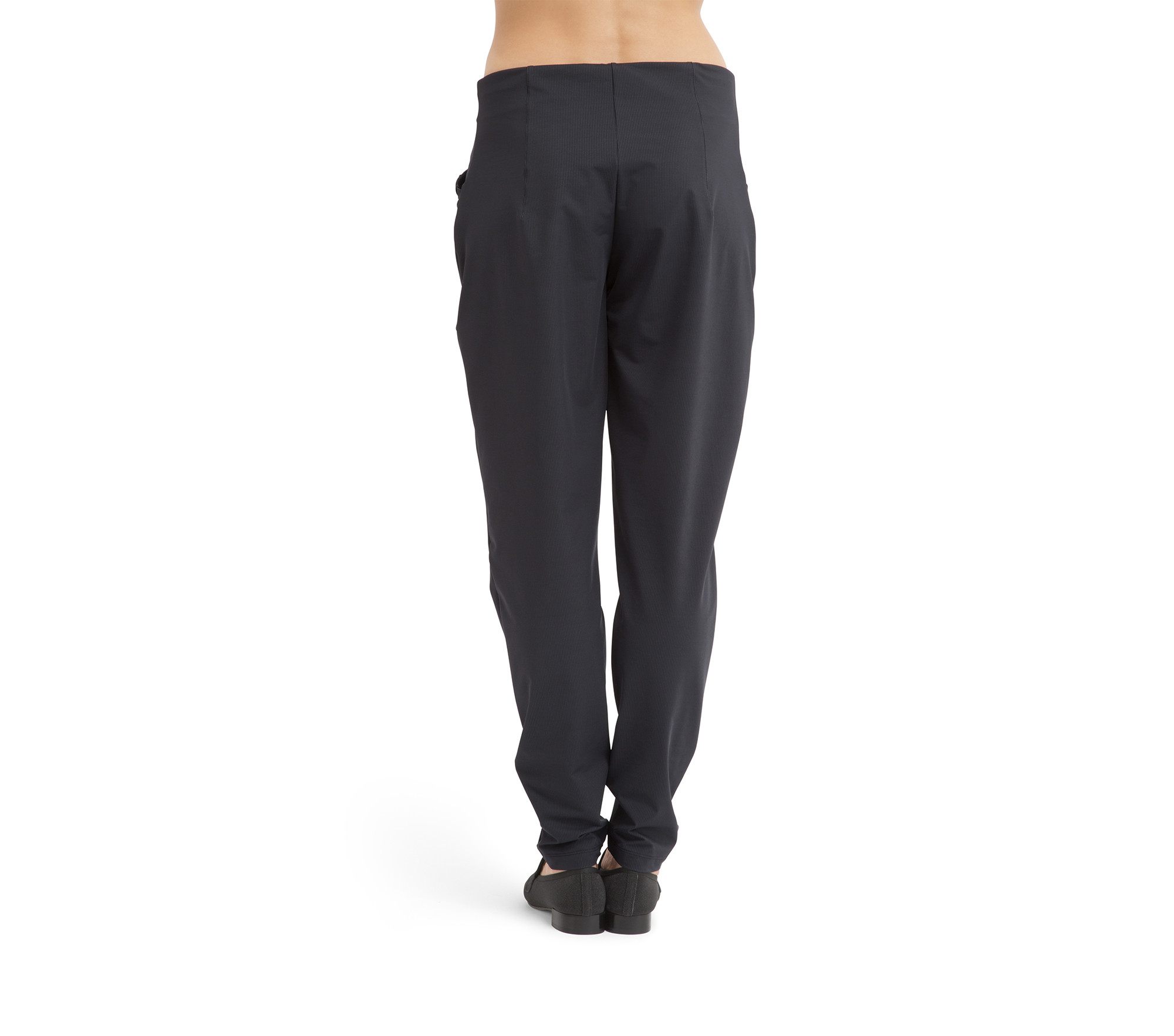 Pantalon stretch taille haute