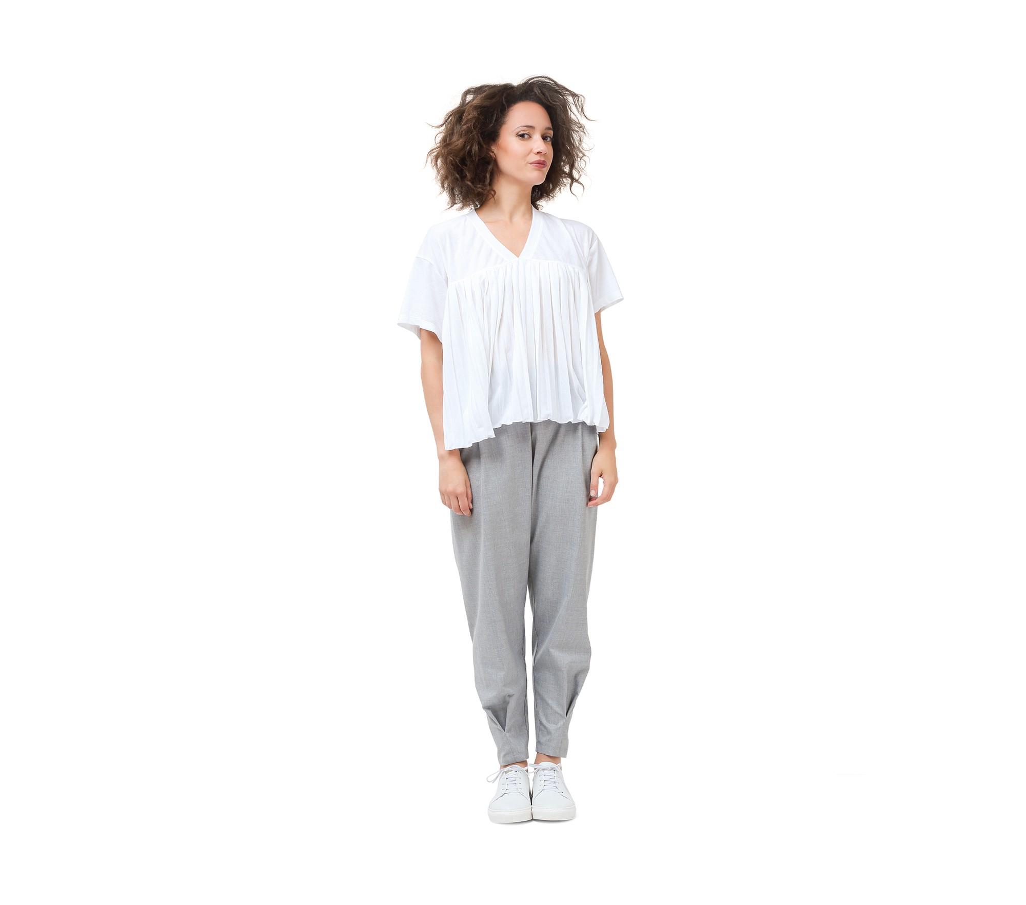Pantalon chaîne et trame