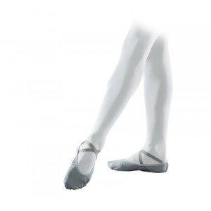 Professional soft ballet shoes with split sole (large width)