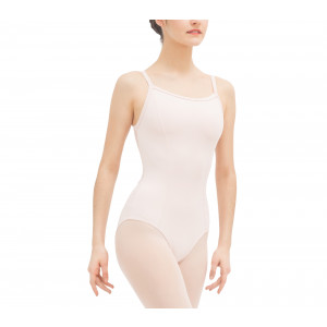 Leotard with lace nt the back