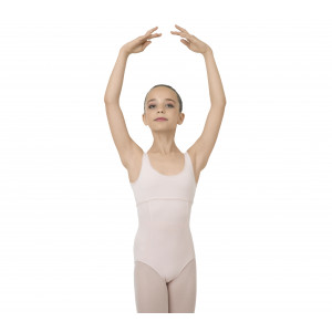 Girl leotard with large straps