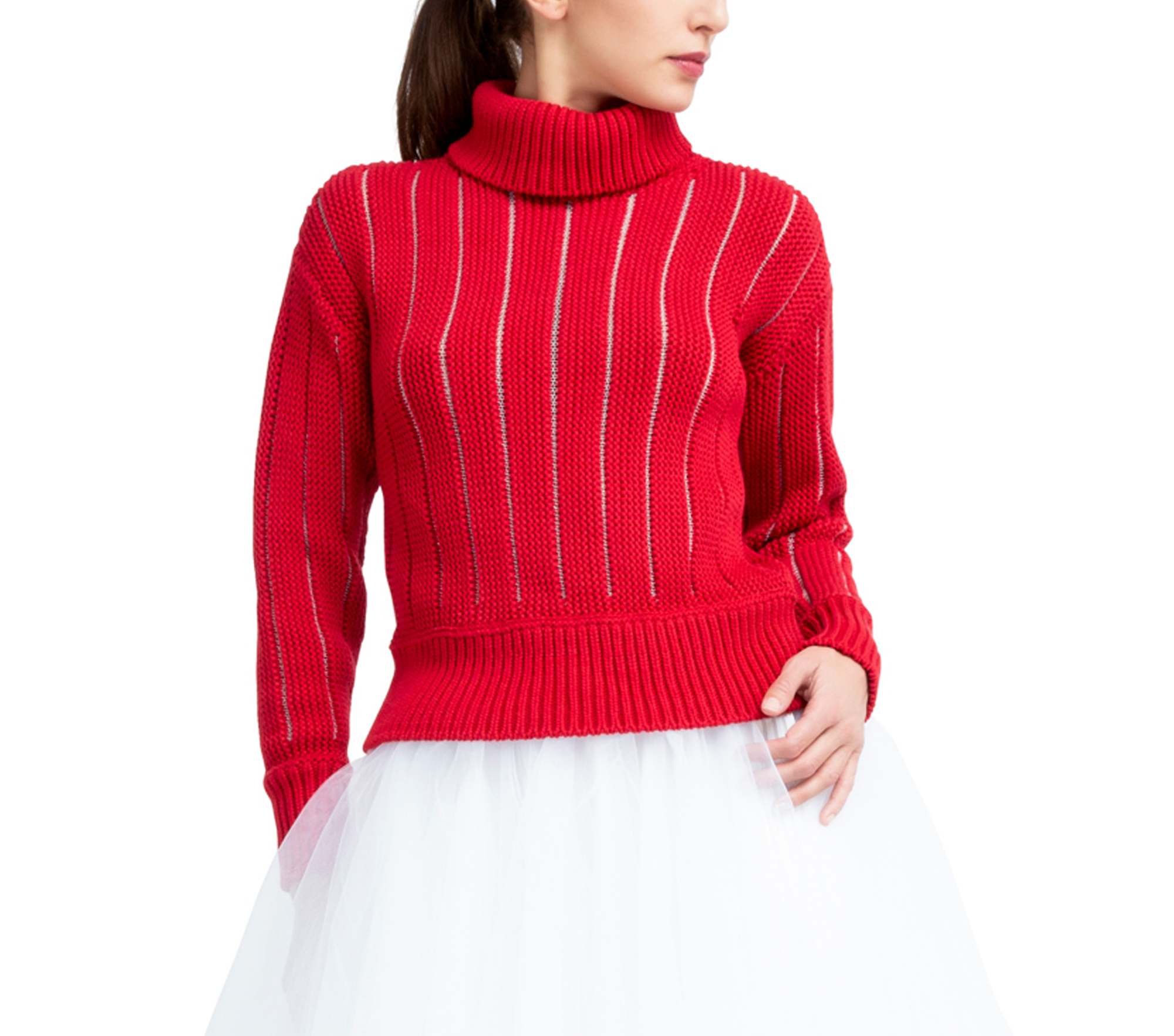 Fancy knit sweater