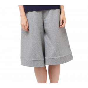 French terry culotte skirt