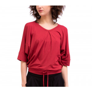 Viscose triangular top