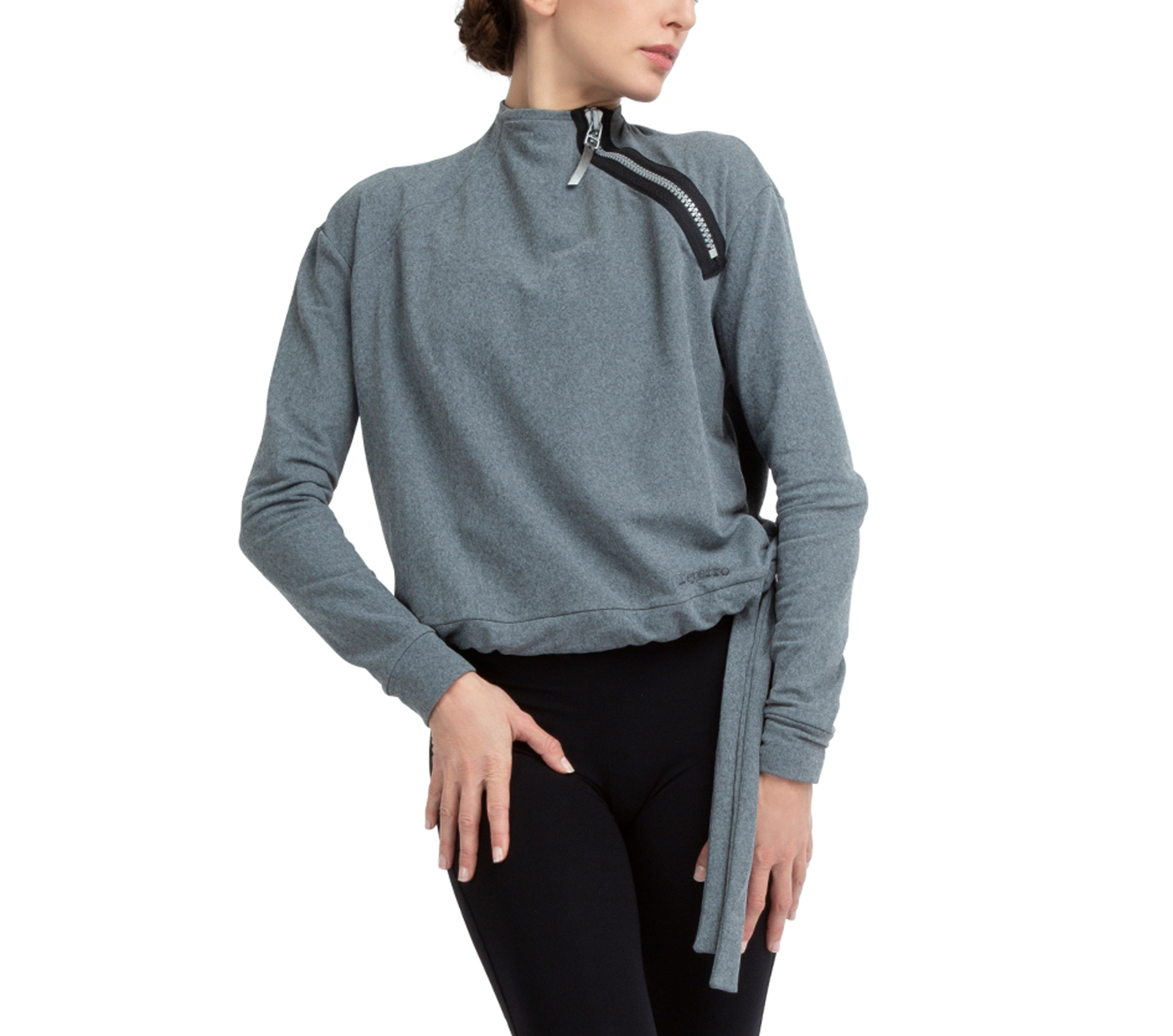 Power-stretch technical sweater