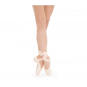 La Carlotta Pointe shoes - Medium box Hard sole