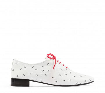 Charlotte oxford shoes - White