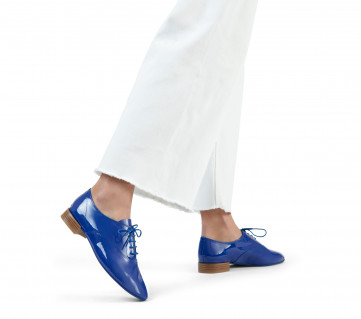 Charlotte oxford shoes - Gypsy blue