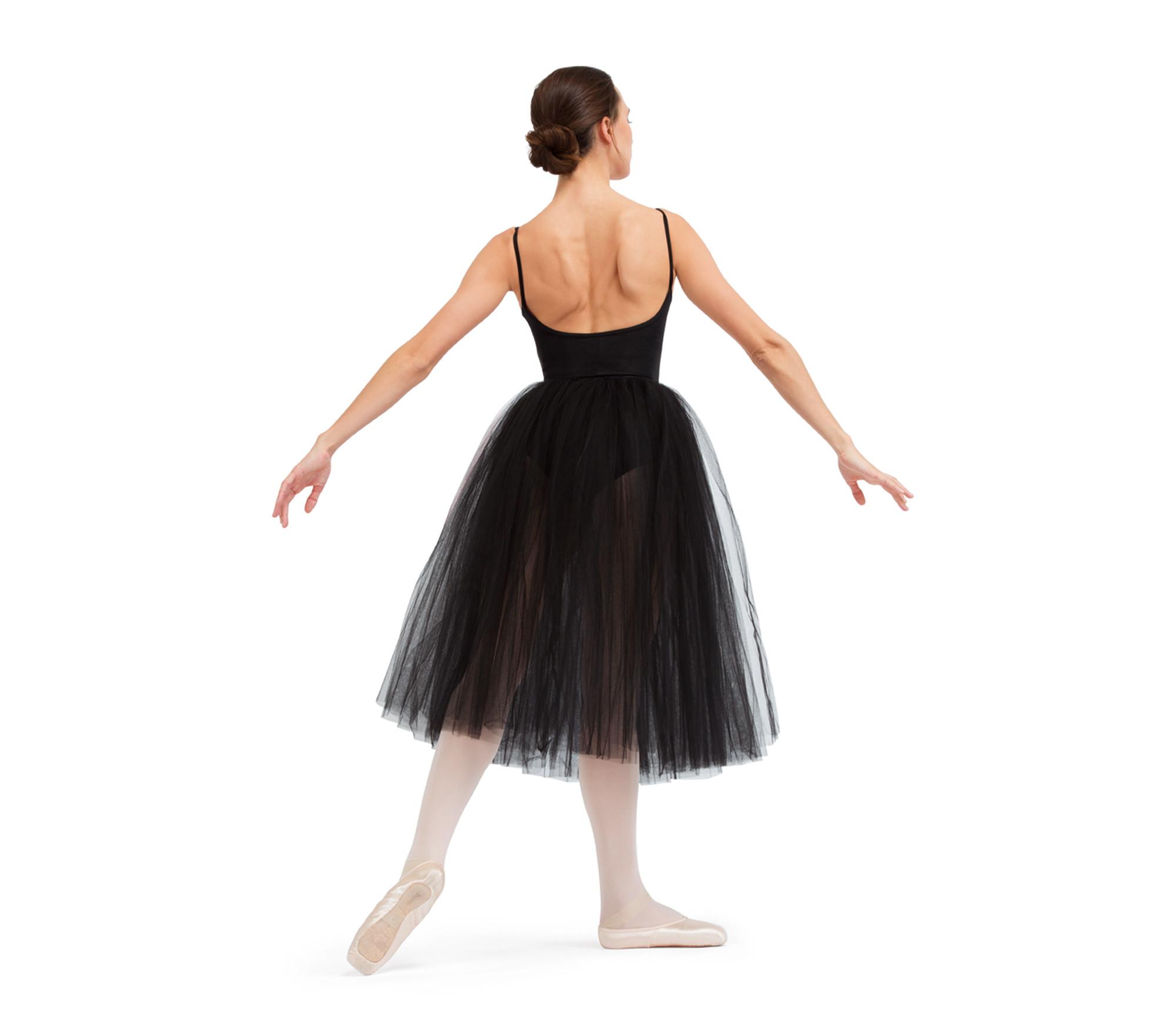 Rehearsal tulle skirt