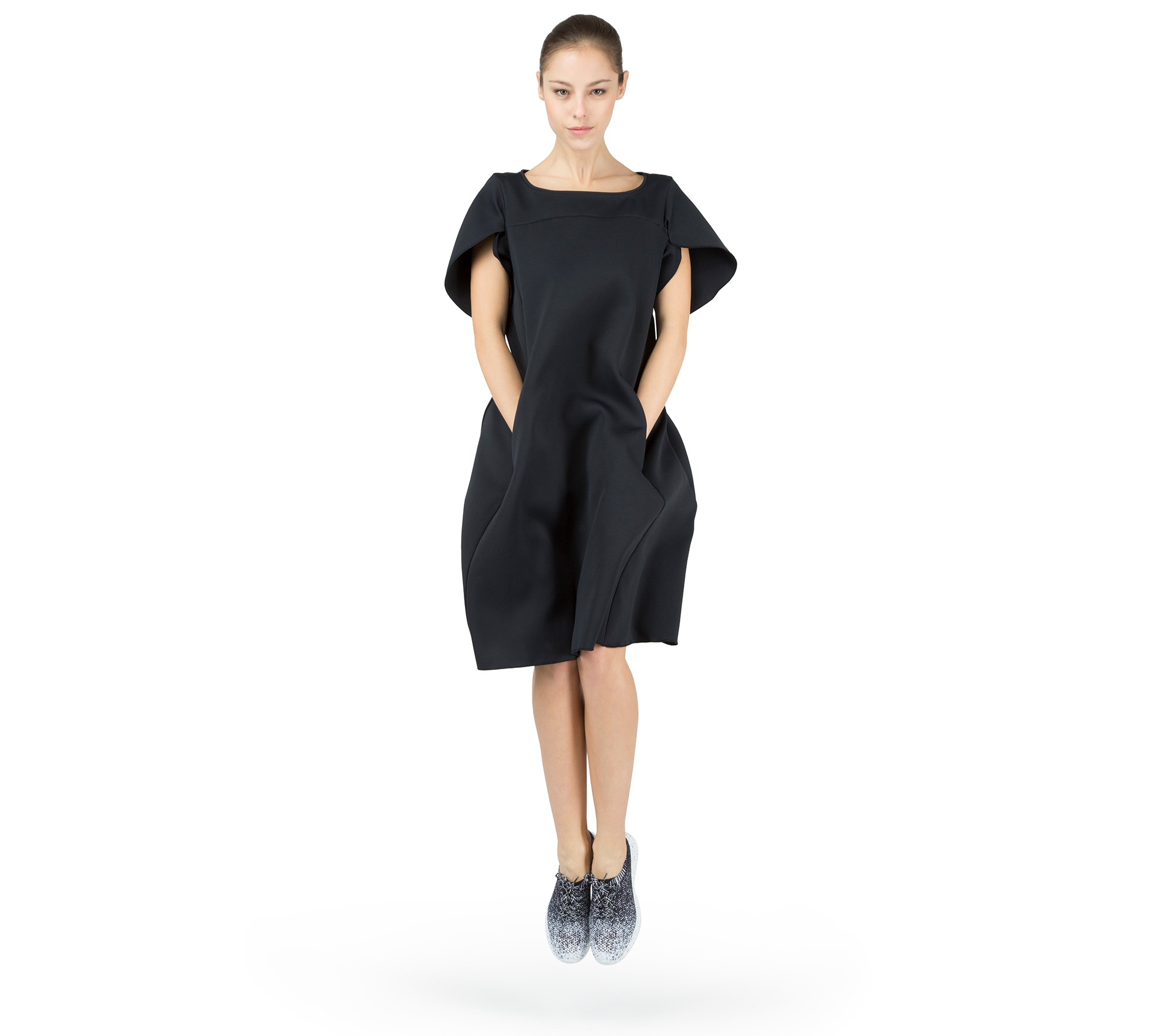 Neopren effect dress