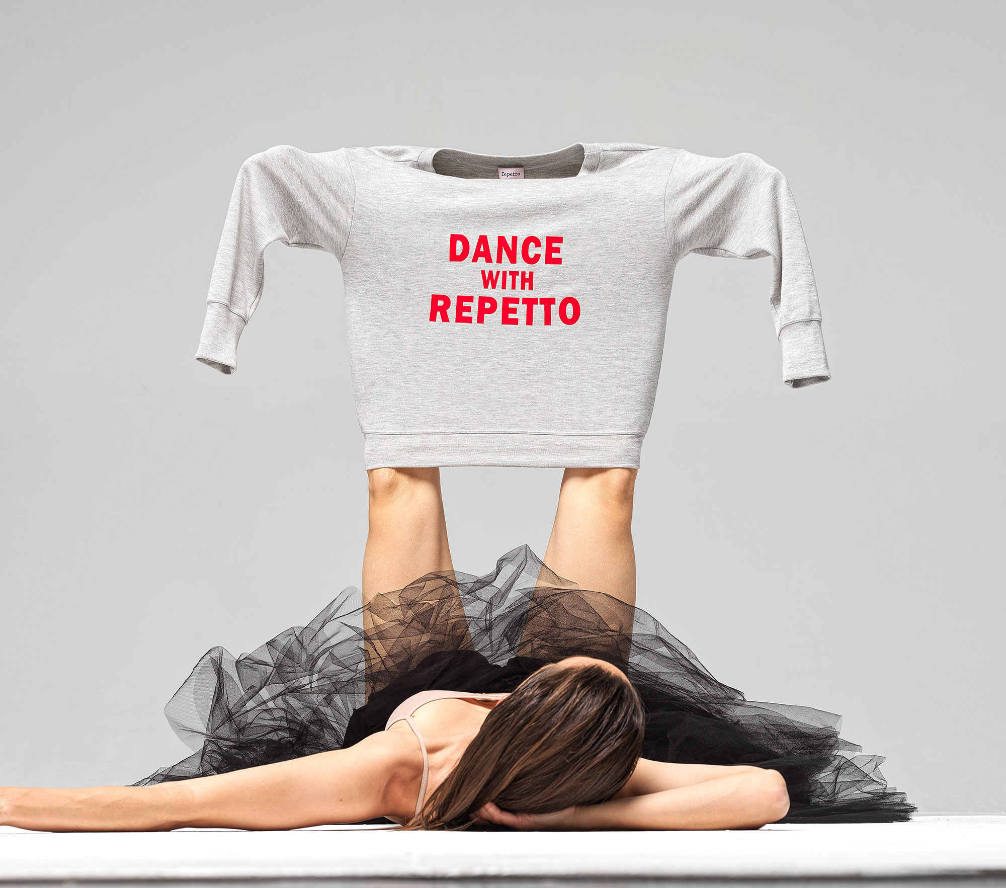 """""""Dance with Repetto"""" sweater"""