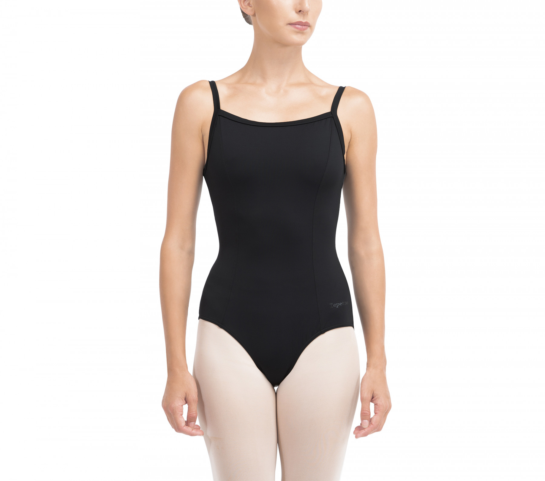 Leotard with lace in the back