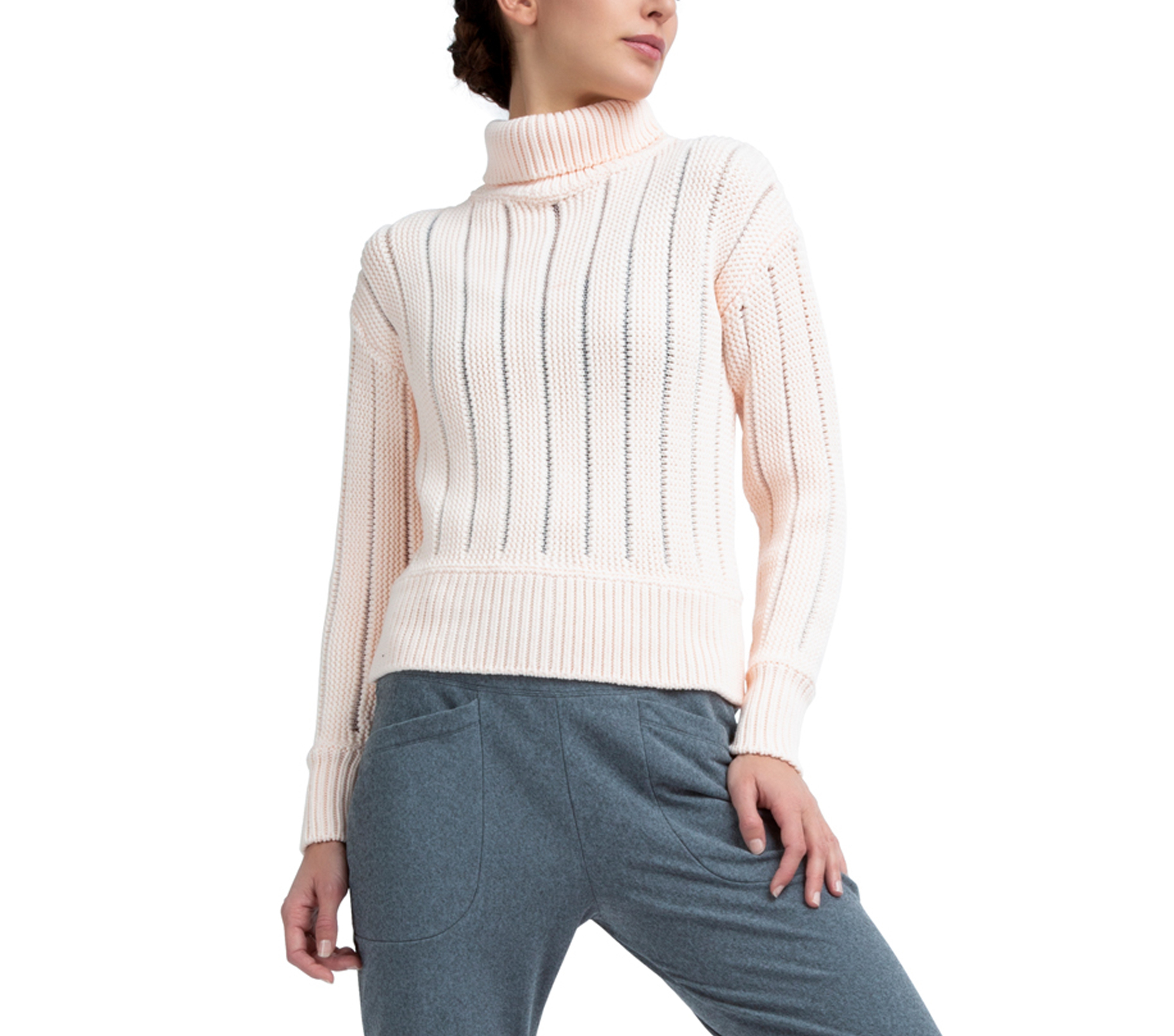 Fancy knit sweater