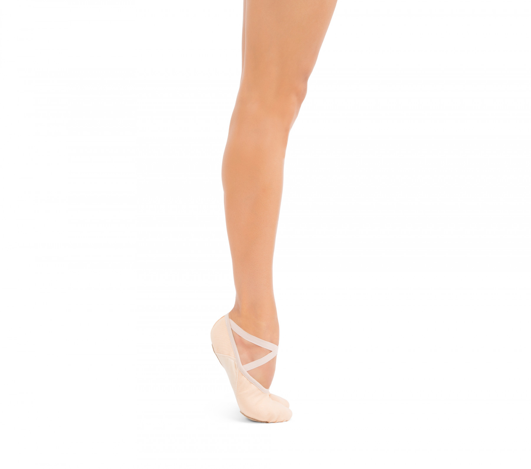 Professional soft ballet shoes with split sole (narrow width)