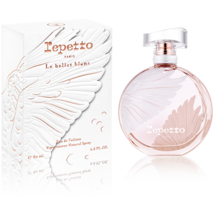 Ballet Blanc, a new perfume from Repetto