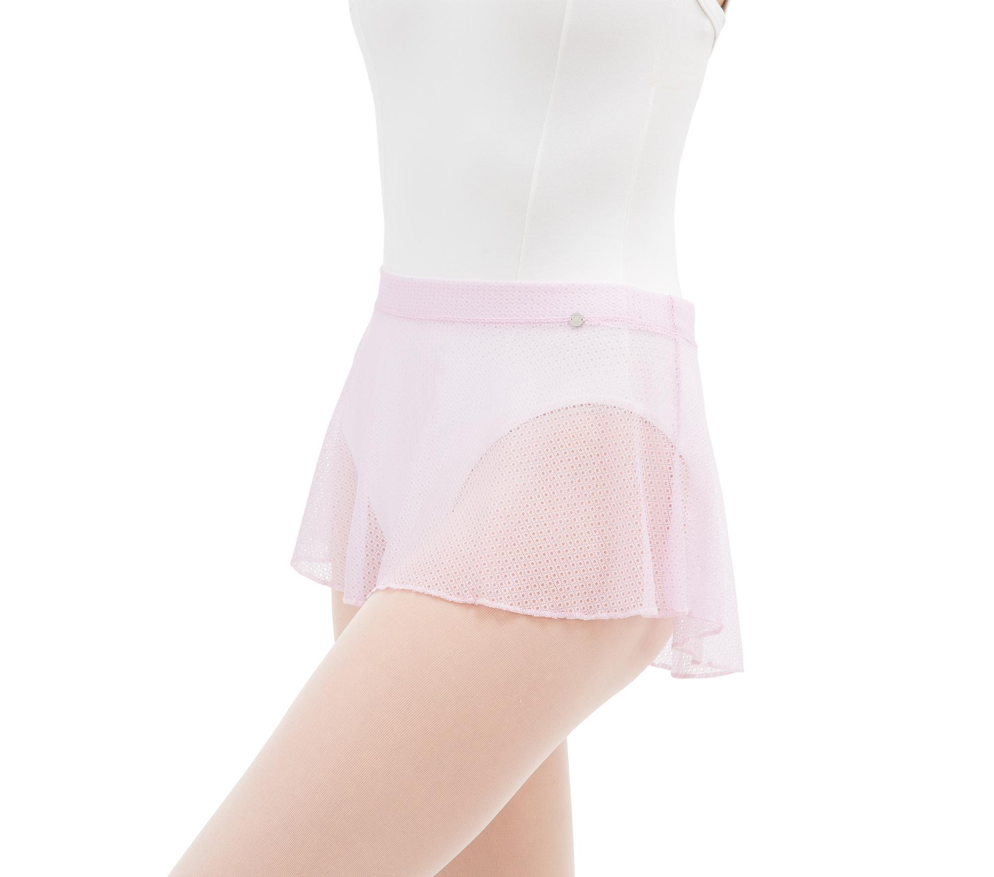 Short lace skirt