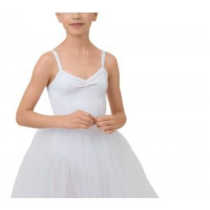 Girl rehearsal tulle skirt