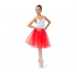 Girl long tulle skirt
