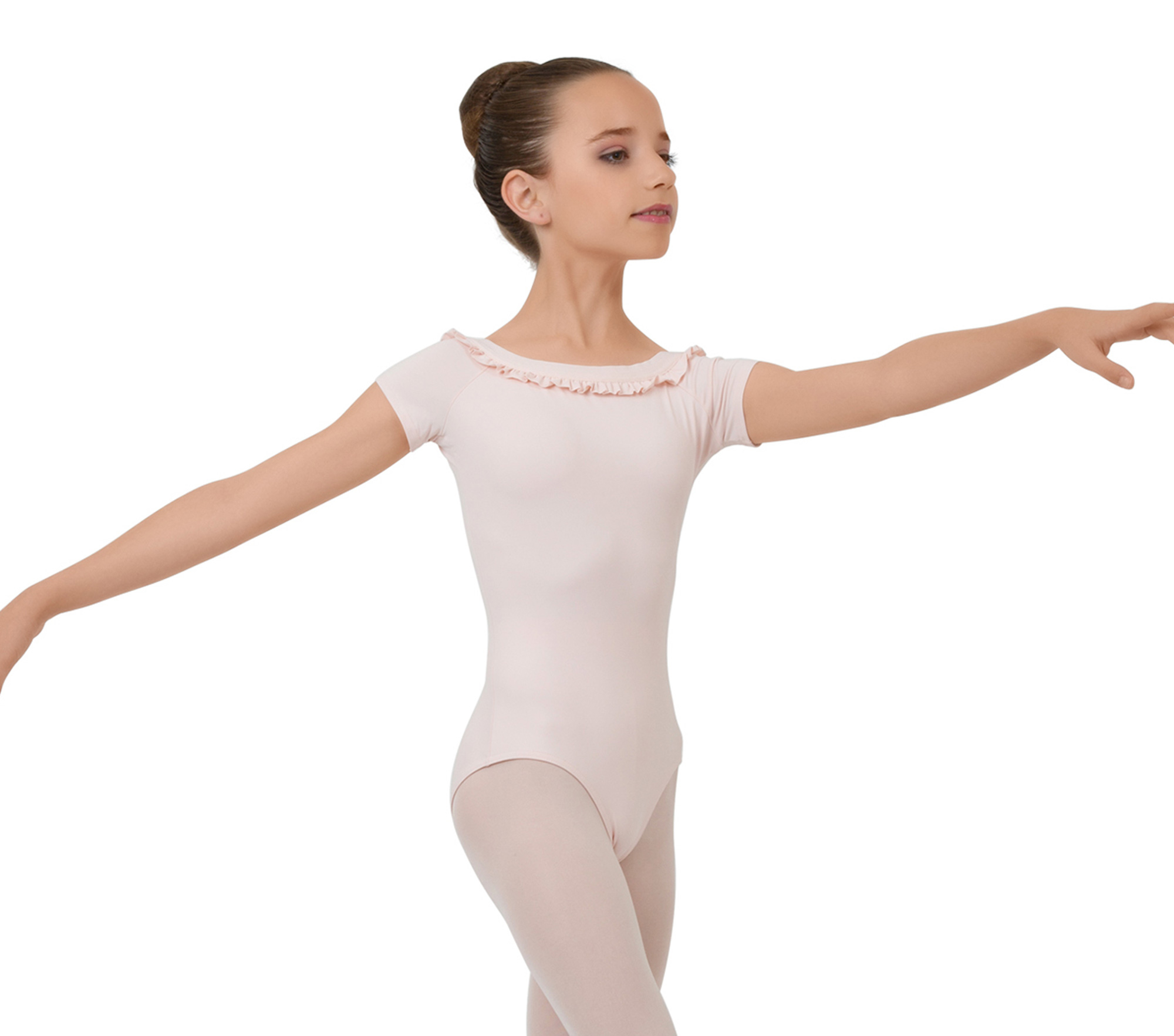 Short sleeved leotard