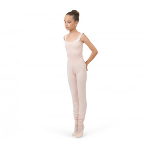 Girl jumpsuit with large straps