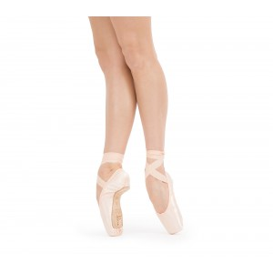 Alicia pointe shoes - Large box Medium sole