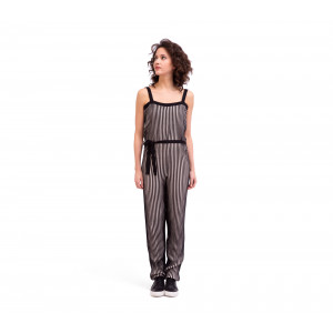 Two-colour jumpsuit