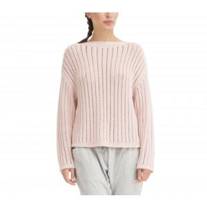 Fancy 3D knit sweater