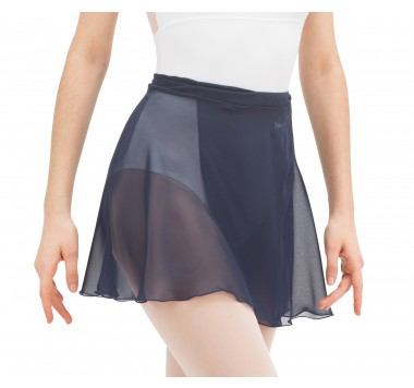 Short chiffon skirt