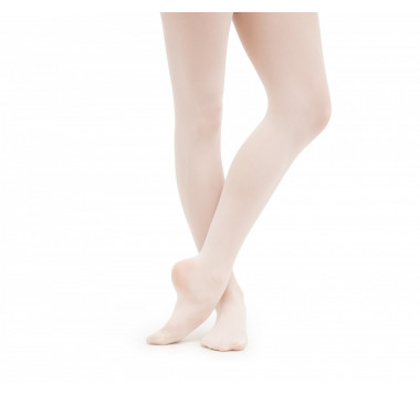 Girl footed dance tights