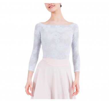 Long sleeves top in lace