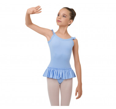 Tunic with elasticaded straps