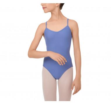 Girl thin straps leotard