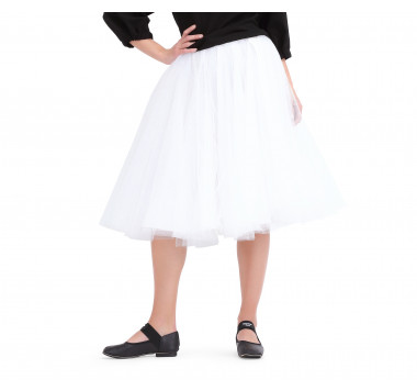 Ballerine mid-lenght tutu skirt