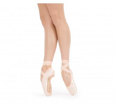 Alicia pointe shoes - Large box Medium sole