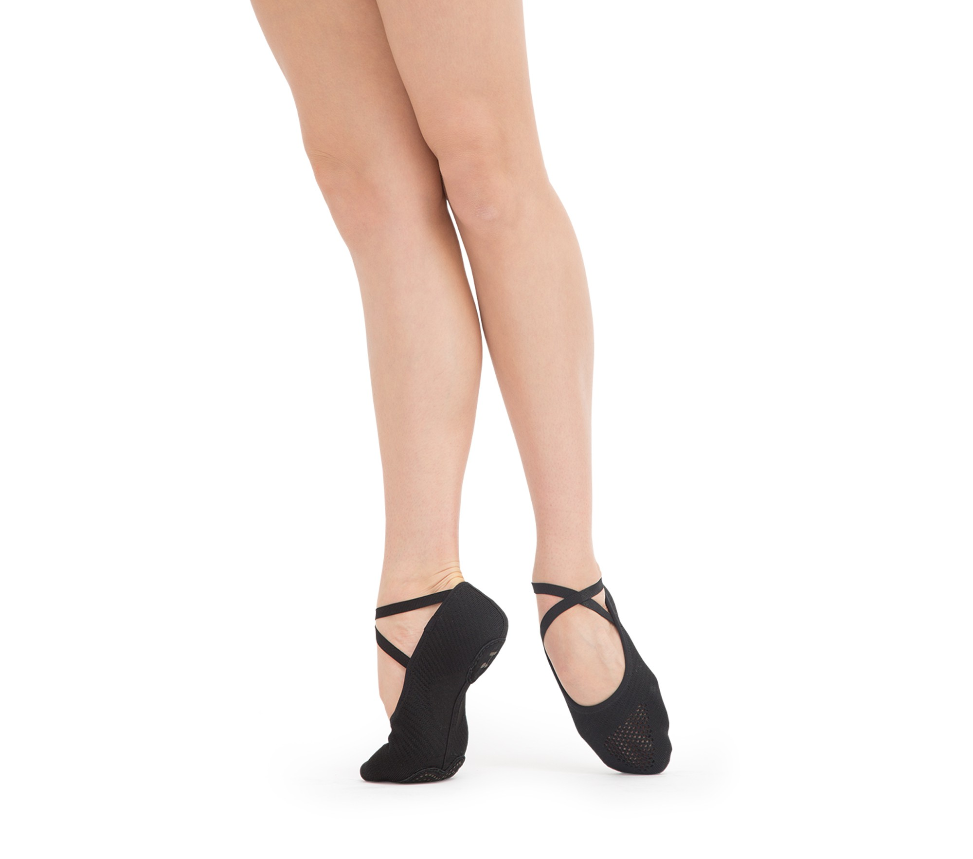 Knitted soft ballet shoes
