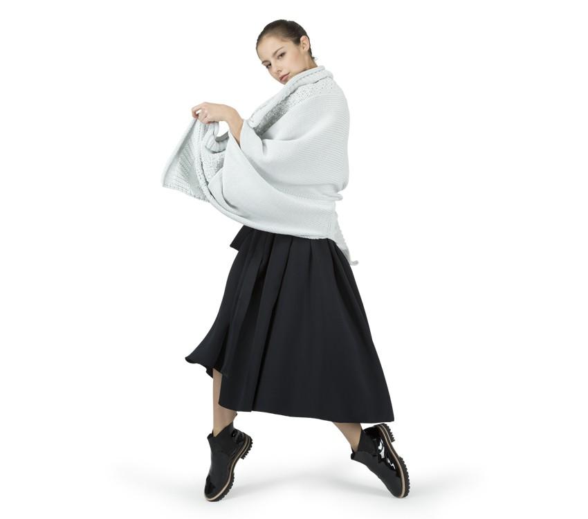 'Neopren effect' skirt