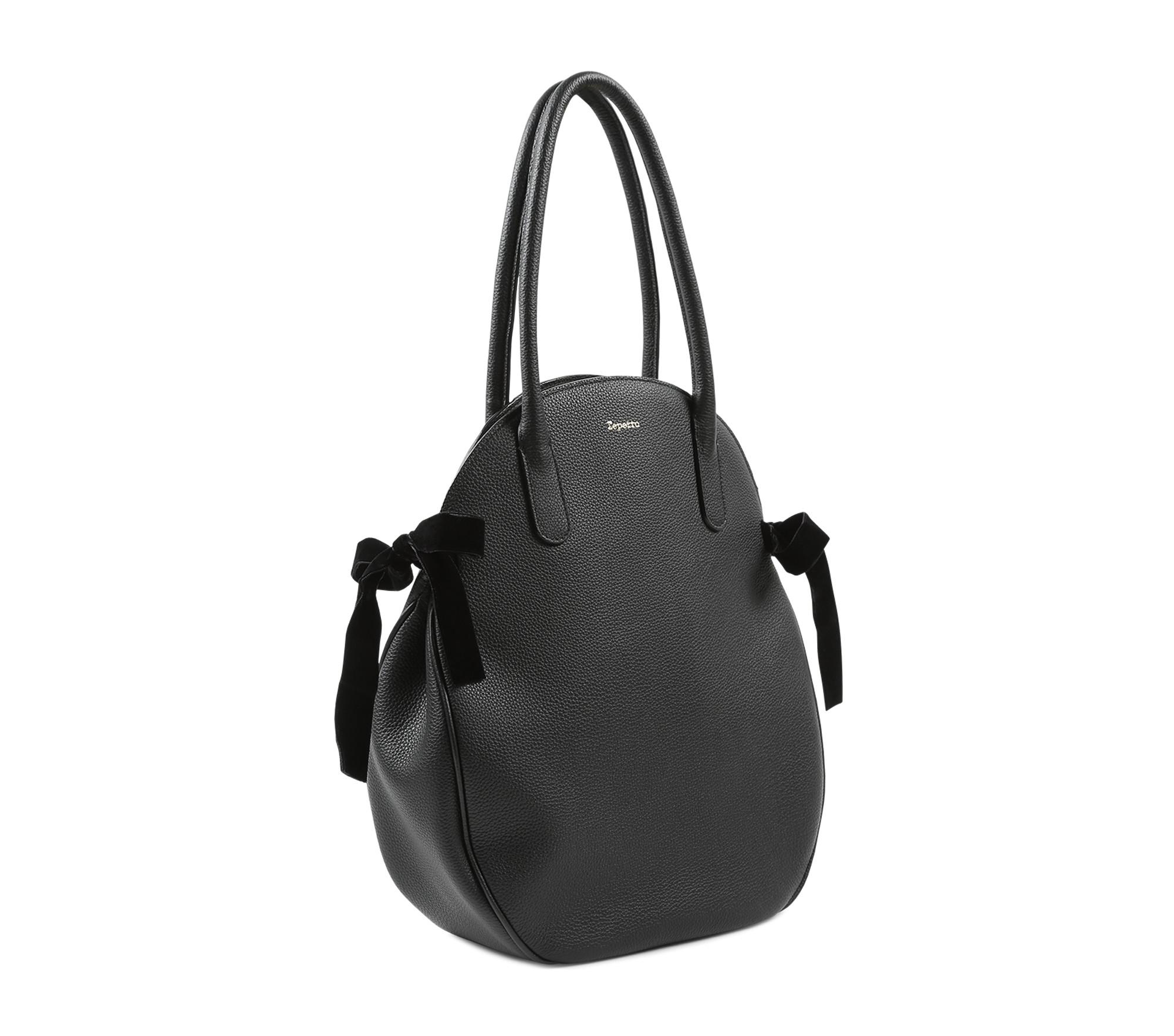 Arabesque circular shopping bag