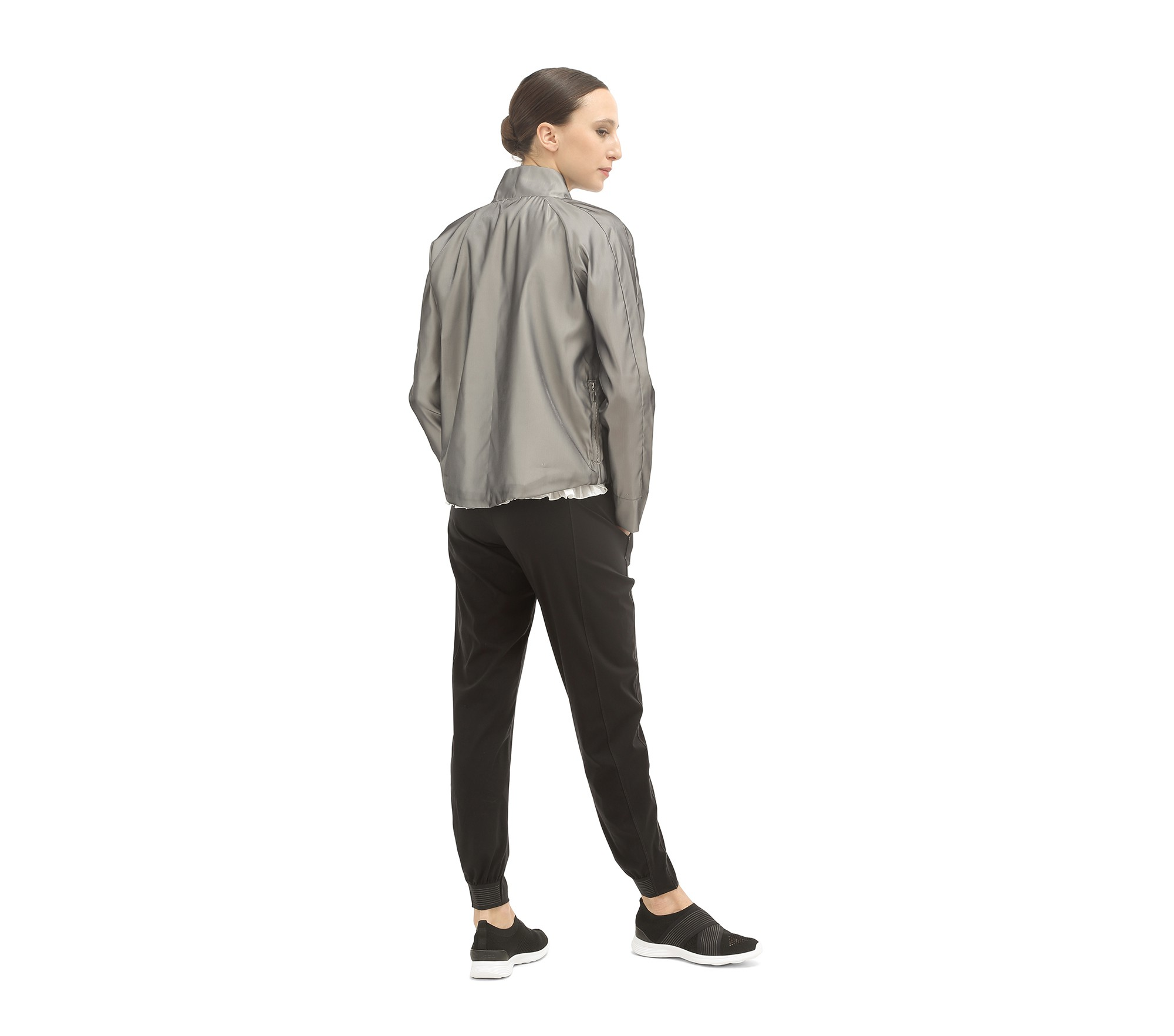 Shiny short jacket