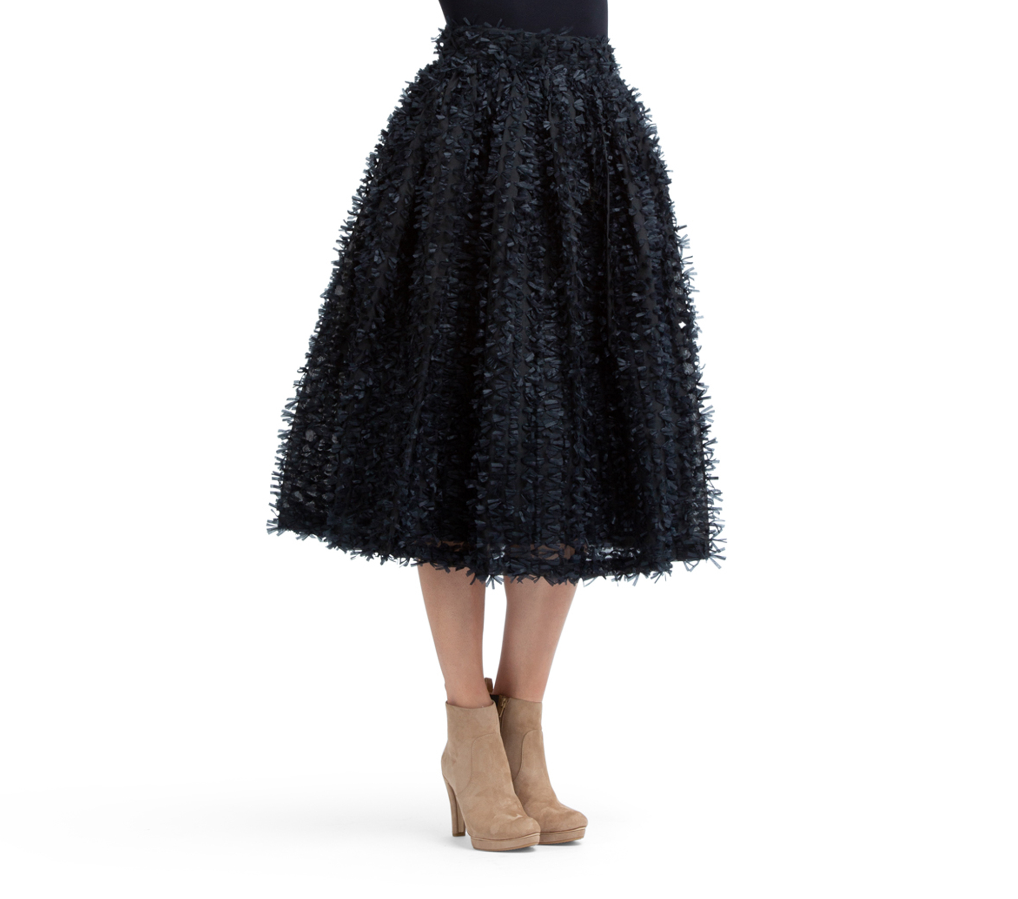 Opéra long-lenght tutu skirt