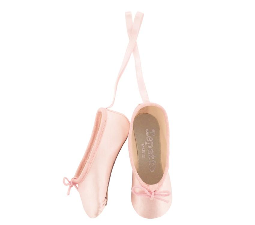 Miniature ballet shoes