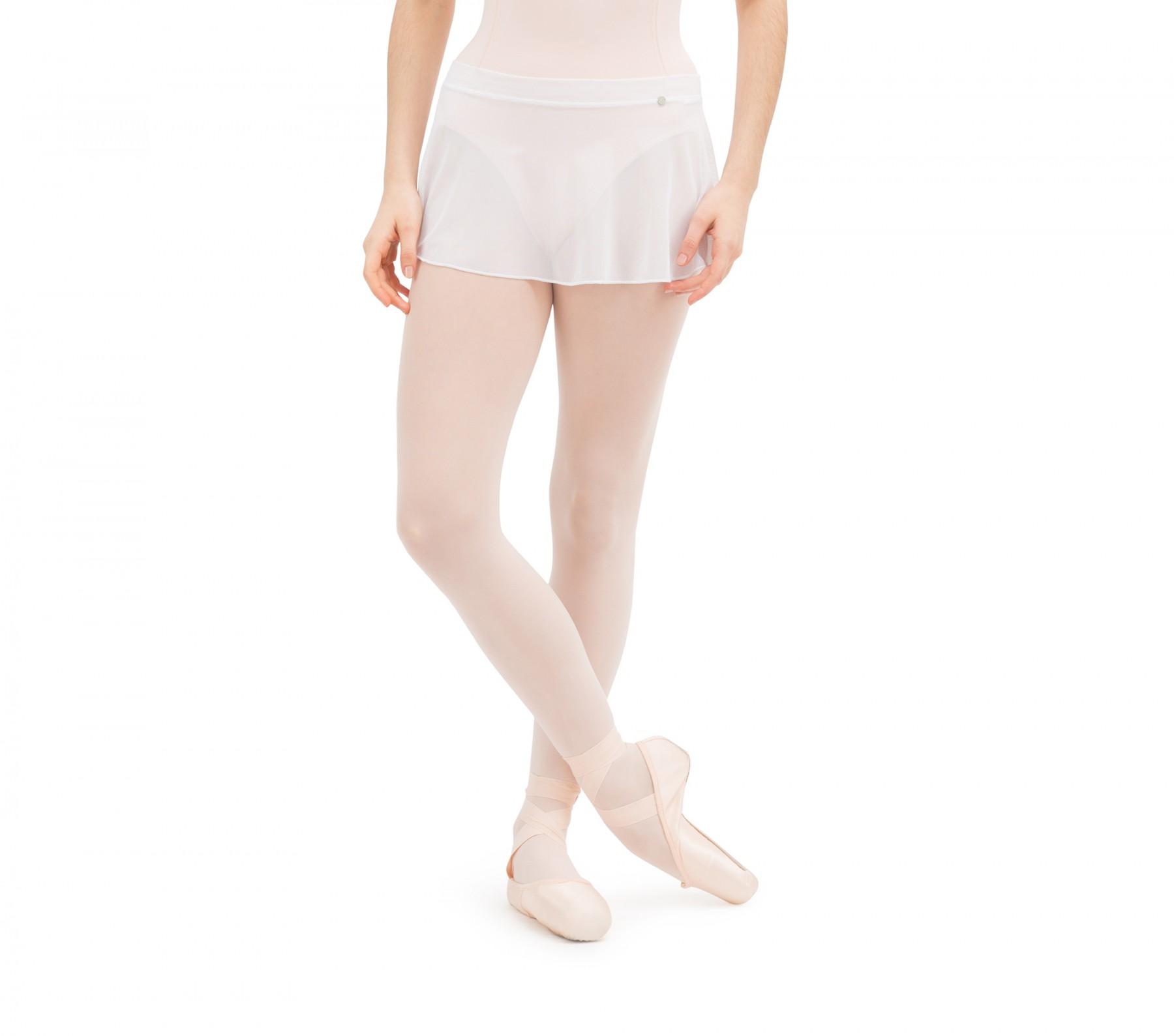 Short fishnet skirt