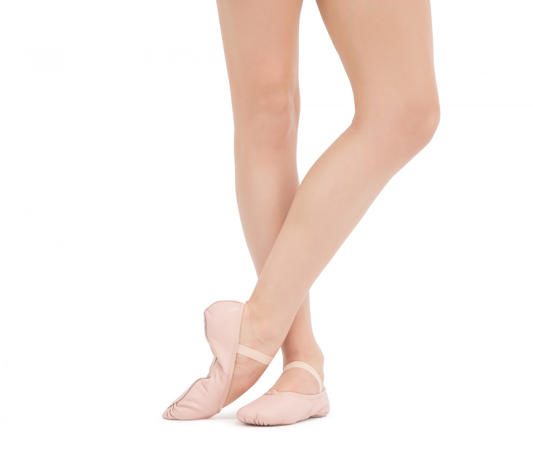 Soft ballet shoes with full sole